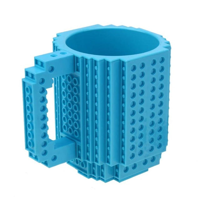 Cup 350 Gift Lego Drinkware 12oz Ml Block Mug Blocks Coffee Friends On For Tea Diy Portable Student Puzzle Building Build shCtdrQ