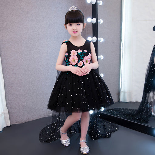 583d3b768 Baby Girls Birthday Party Long Tail Dress | Wedding Ball Gown Dress for  Baby Girls -