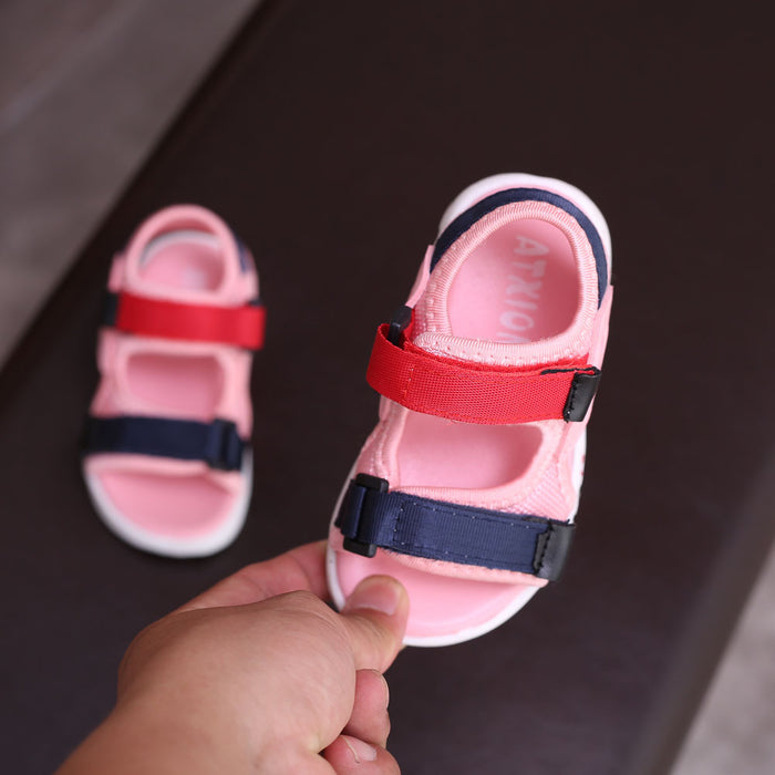Baby comfortable sandals beach kids casual sandals children fashion sport sandals