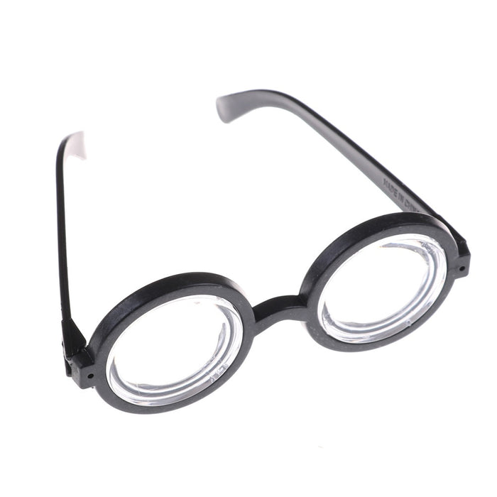 Kids Funny Decorative Minions Cosplay Costume Glasses Party Props Circular Glass Birthday Party Supplies Decoration