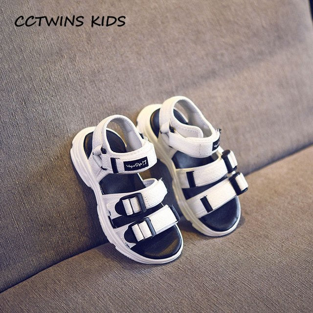 Summer Baby Casual White Flat Children Barefoot Beach Sandal Boy Brand Casual Soft Sport