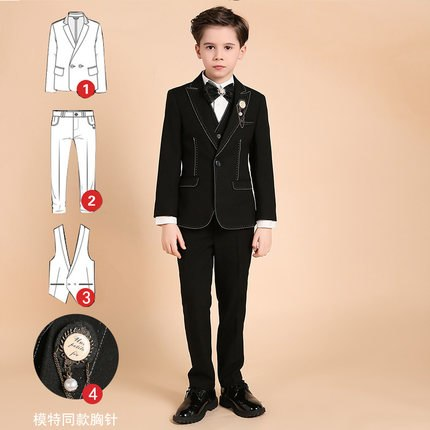 Royal Prom Suits | Party Dress for Boys Kids Costume Garcon