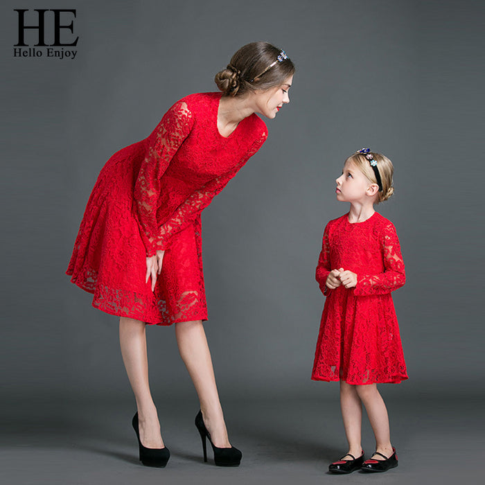 Mother & Daughter Matching Dresses | Family Matching Outfits for Moms & Girls