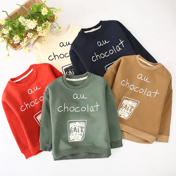 Fashion Winter Sweatshirt Boys n Girls T-Shirts Printed Pullovers