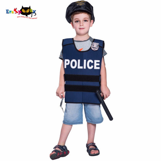 Halloween Costume For Boys  Police Vest | Policemen Costumes