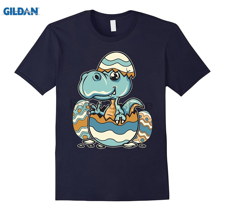 GILDAN Dinosaur Easter Egg - Funny Easter Shirt For Kids And Adults T-shirt