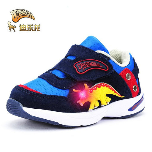 Dinoskulls Dinosaur Baby Shoes Spring Autumn Breathable Anti-slip Shoes
