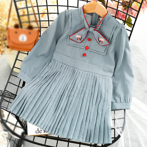 Toddler Girls  Autumn Winter Kids Girls Long Sleeve Dress