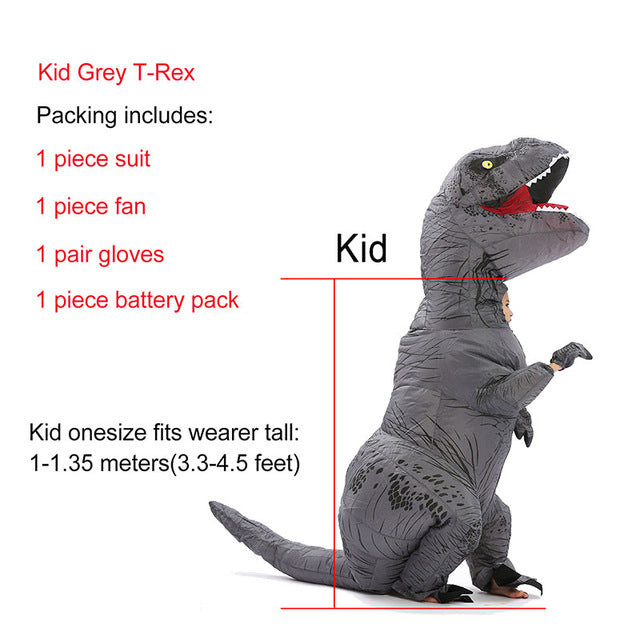 Inflatable Dinosaur Costume Halloween | Fancy Dress Costume