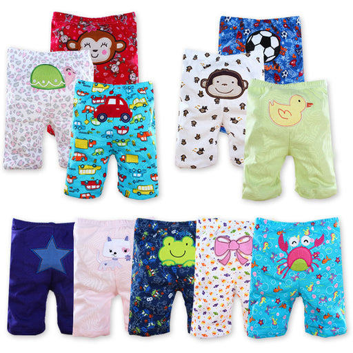 3/4/5pieces/lot Baby Shorts PP Hot Short Pants Newborn Baby Pants Summer Infant Clothing Cartoon Pant Toddler Clothes - KiddyLanes