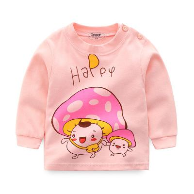 Brand Baby Long Sleeve Girls T-shirts  Kids Clothes Clothing Child Rabbit Print Costume Top Tees
