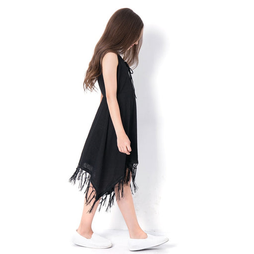 Girls Party Wear Casuals | Summer Tassel Vest Party Dress
