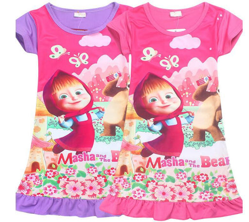 Masha And The Bear Girls Frocks