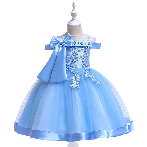 Girls Princess Dress | Printed Vestidos