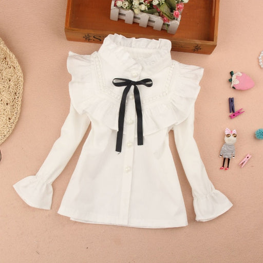Girls Casual Wear | Stripe & Frill Shirts & Frilled Lace Skirts
