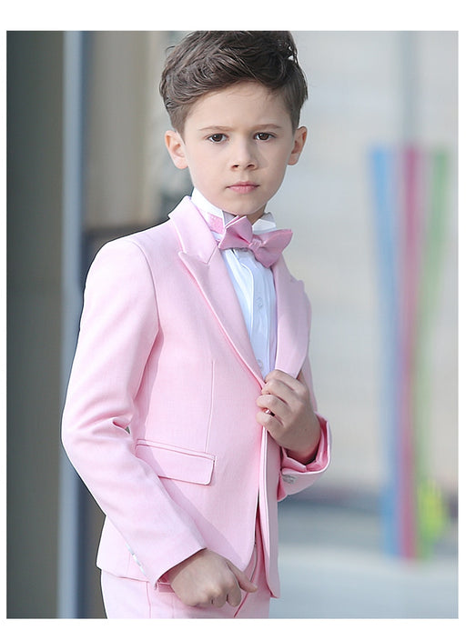 Pink Handsome  | Boys Wedding Party Formal Suit Sets
