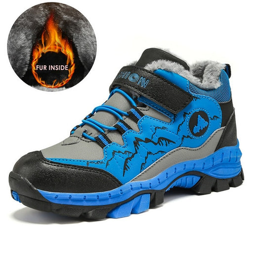 Children Outdoor Sports Hiking Anti-Skid Claw Trekking Shoes