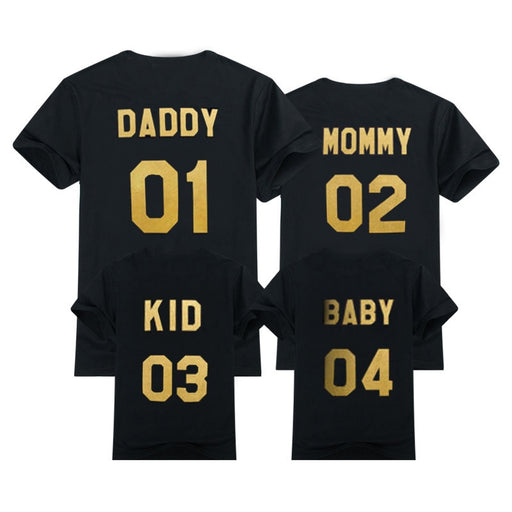 Family Matching Outfits | Mom Dad Kid Baby Matching Look Dresses | Fashion T-shirts | Mommy and Me Clothing | Mother Daughter Clothing