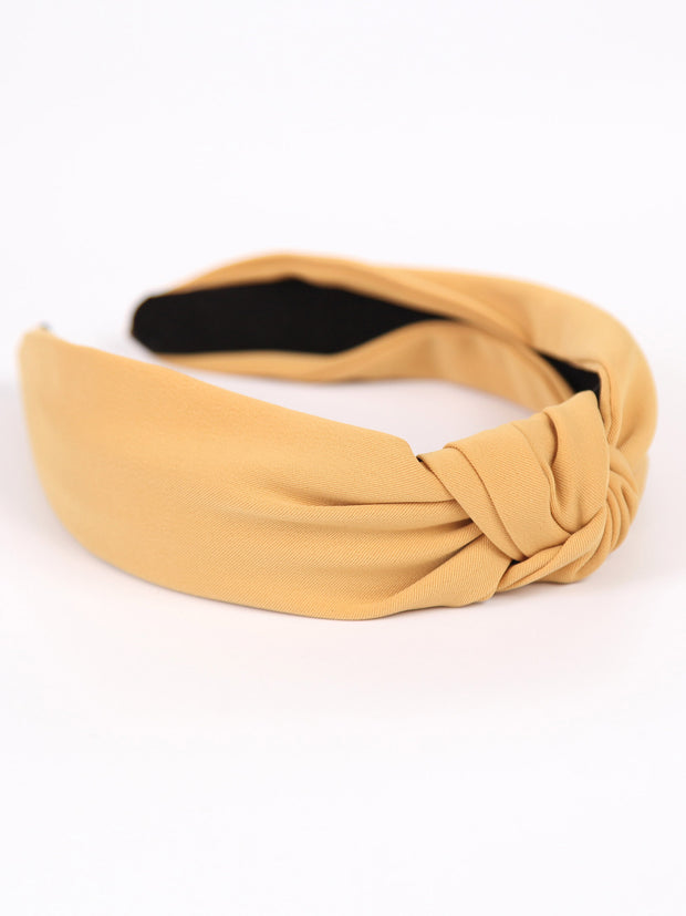 Knotted headband | Earth color
