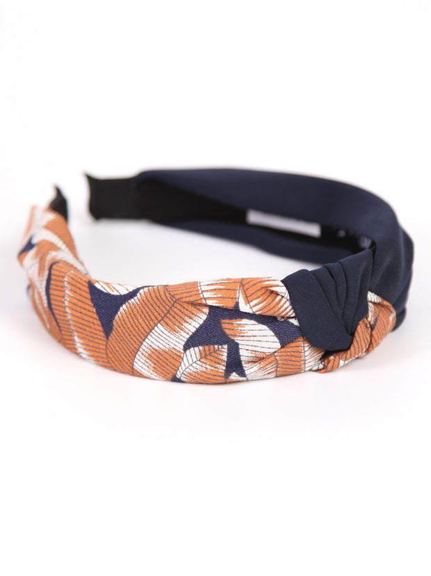 HEAD BAND -SOLID X PRINT
