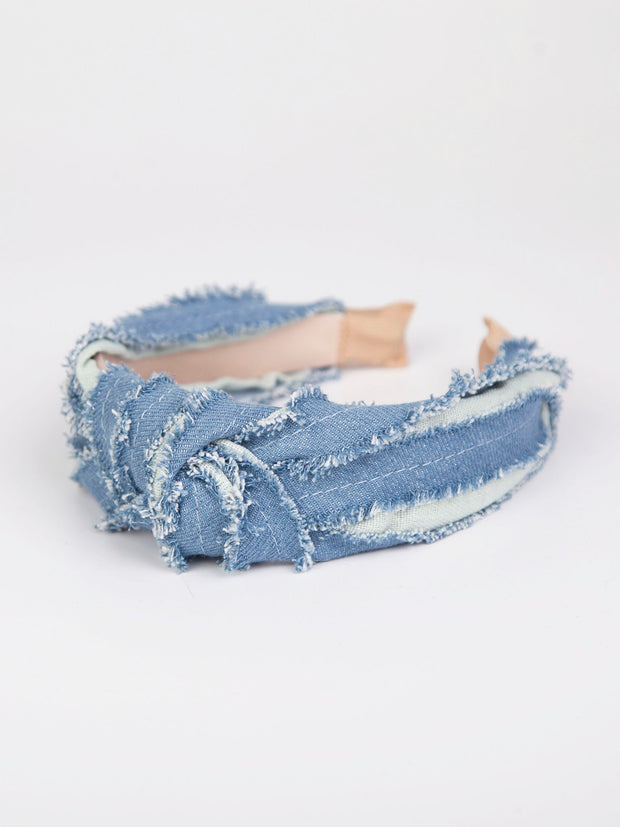 Blue denim
