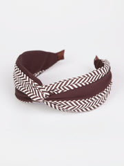 Twist headband | Herringbone