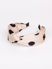 Twist headband | Big polka dot