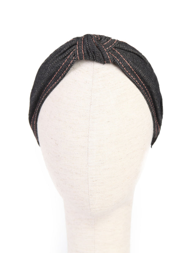 Headbands - Black Denim