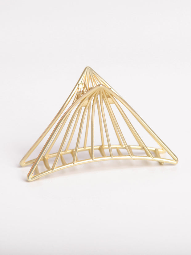 Metal Hair clips - Piramid