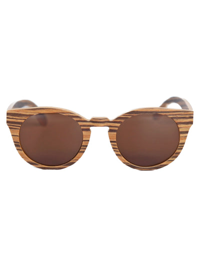 August | Wood Sunglasses