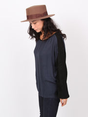 Carin | Balloon long sleeve over sized tops