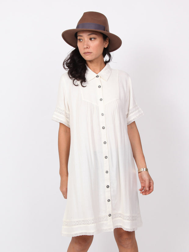 Sophia | Half sleeve shirts dress