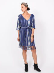 Shayla | Double V neck dress
