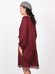 Diana | Embroidery kaftan dress
