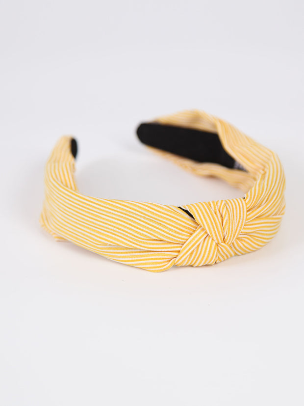 Knotted headband | Stripe