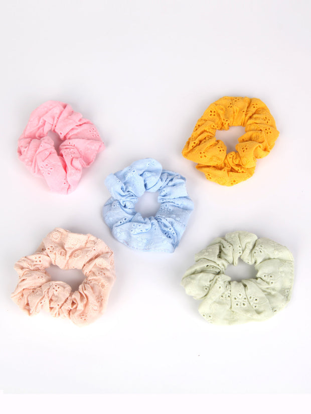 Scrunchies | Cotton lace