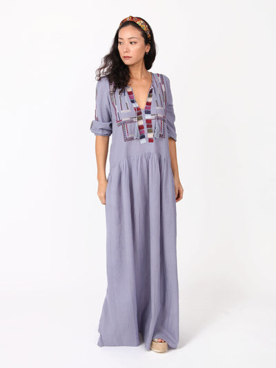 Kaniya Boho embroidered maxi dress