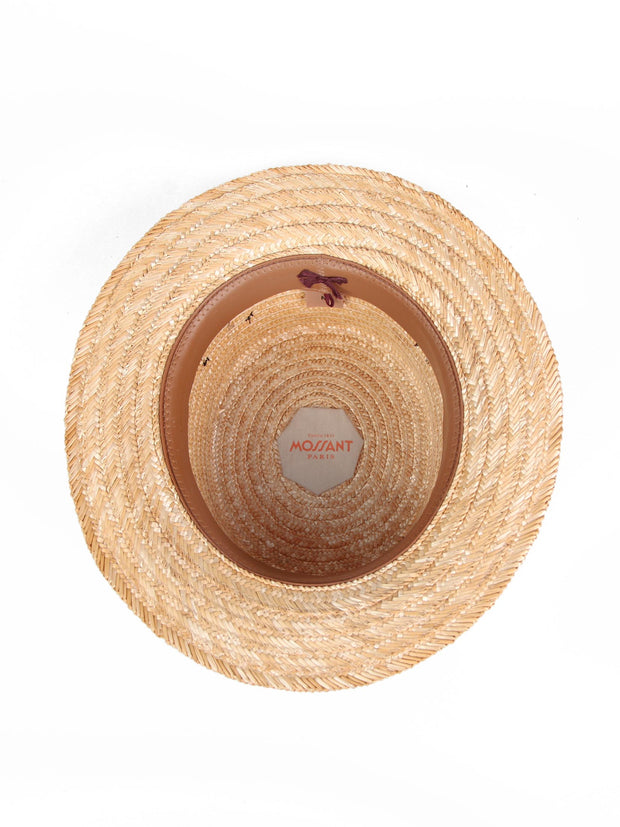 Tait Boater | Wheat straw