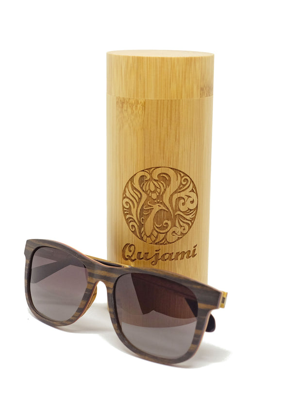 Astra Wood Sunglasses