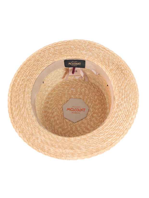 Asi  Boater straw Hat