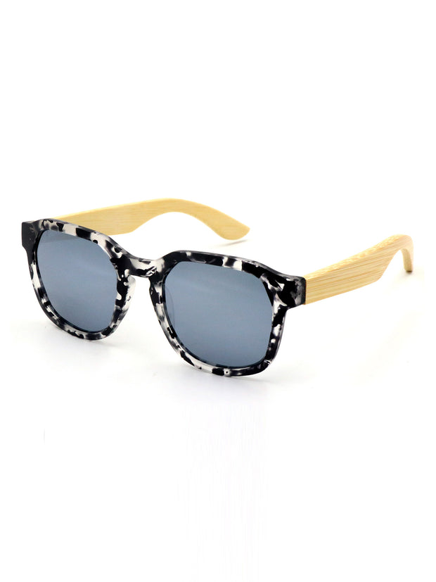Benjamin | Wood x Acetate Sunglasses
