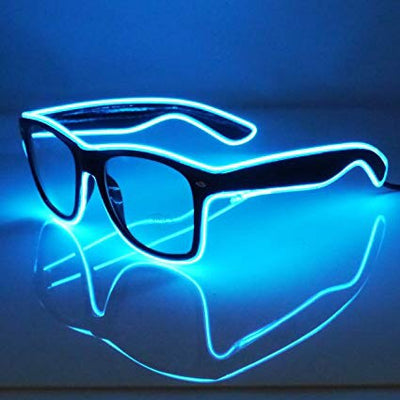 Blue EL Wire Glasses