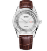 DOM- Top luxury  waterproof quartz  Business leather watch