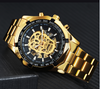 Verge-  Skull Men Watches Top Brand Luxury
