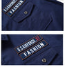 Plato -  High Quality Men's Short Sleeve Shirt men's military