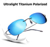 Ultralight Titanium Polarized Sunglasses