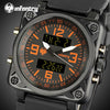 Squatch - Square Case Military Watch For Men