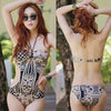 Sexykull -  Womens Skull Pattern One Piece Swimsuit