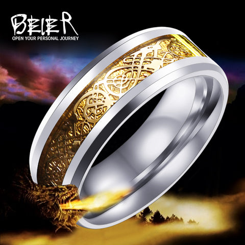 Magic Dragon Viking Rings