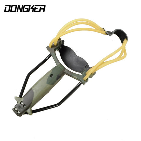 Powerful Hunting Slingshot With Rubber Band and Wrist Support